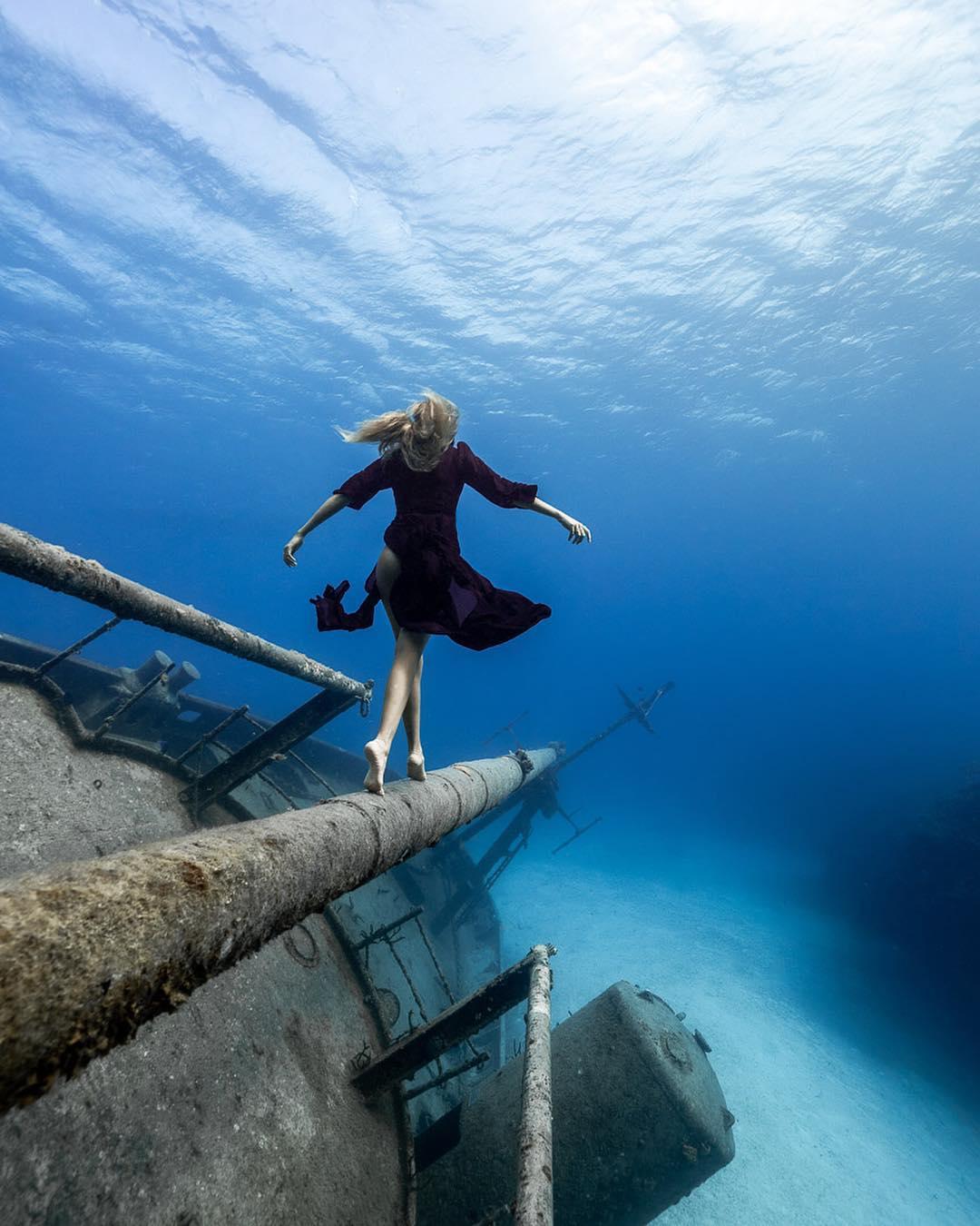 Подводные океанские снимки от Андре Масгроува