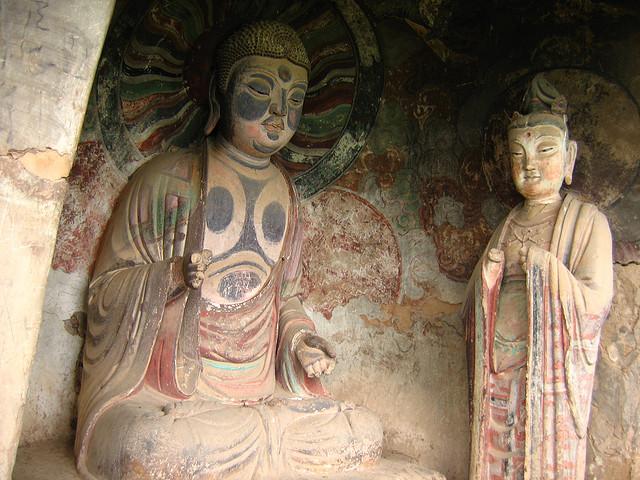 Буддийский комплекс Майцзишань – сокровище Китая