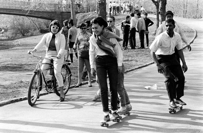 Скейтеры 60-х на снимках Билла Эпприджа