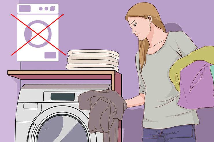 Каким вещам стирка в машинке может навредить