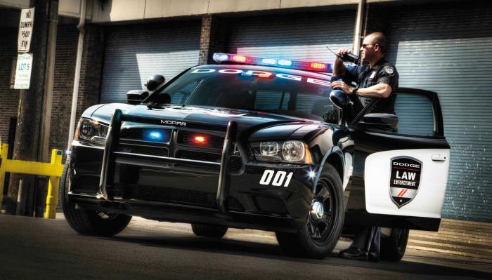 Особенности полицейских автомобилей, которые появились благодаря американцам