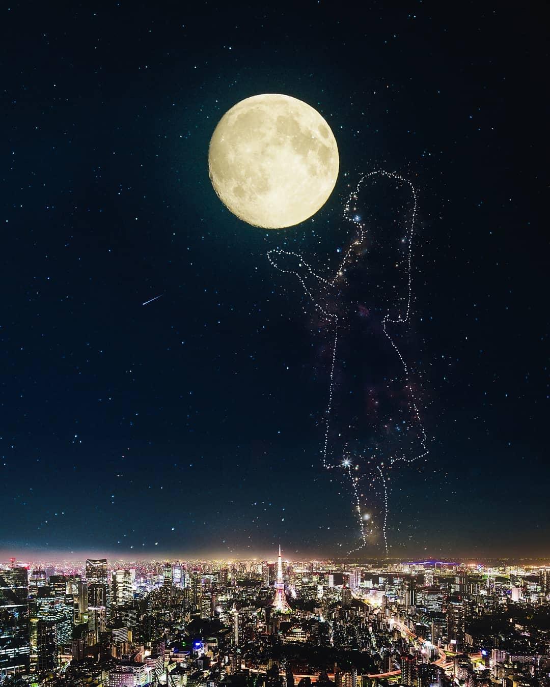 Удивительные фотоманипуляции от Сурьи Крисна