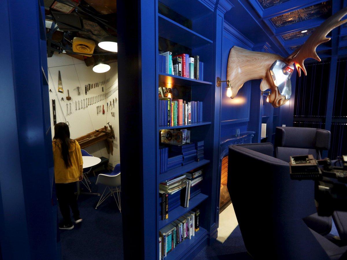 Невероятный дизайн офисов Гугл по всему миру