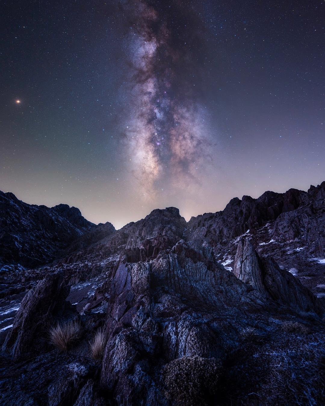 Пейзажи и ночное небо на снимках Дилана Найта
