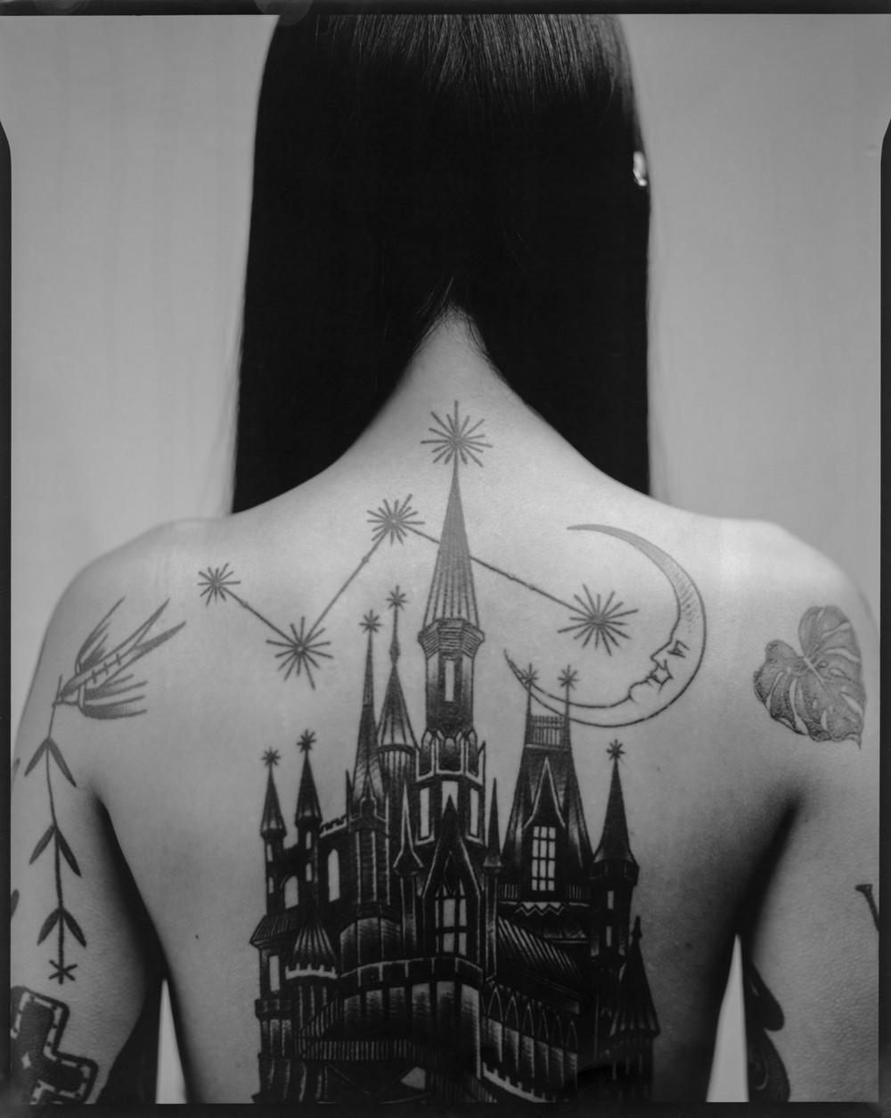 Татуировки жителей Южной Кореи на снимках Тима Франко