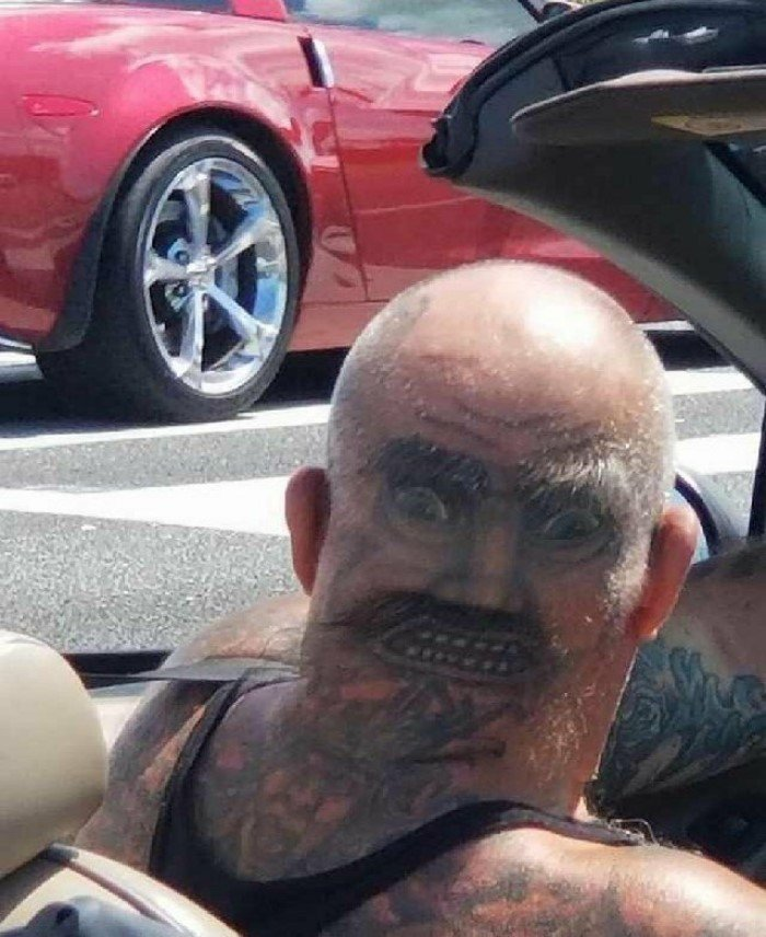 Абсолютно неудачные татуировки от горе-мастеров