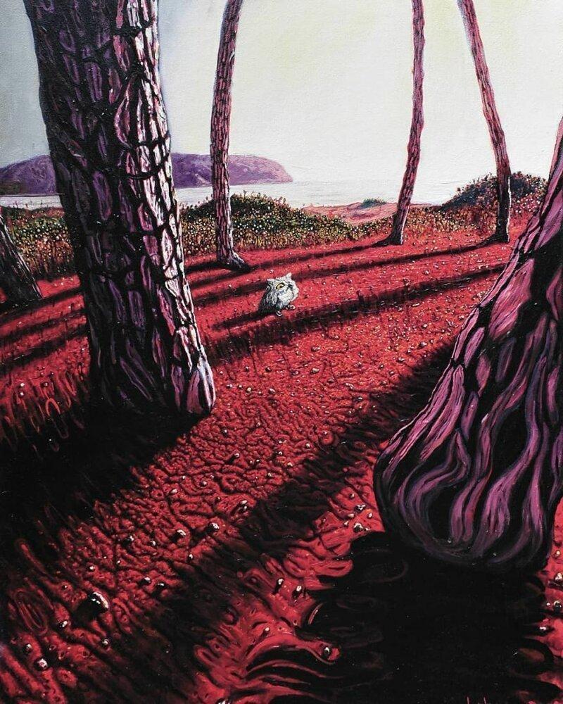 Магический реализм художника Саши Монтильо из Белграда