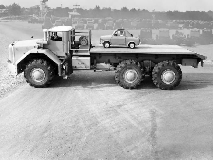 Berliet T100: гигантский французский грузовик середины XX века