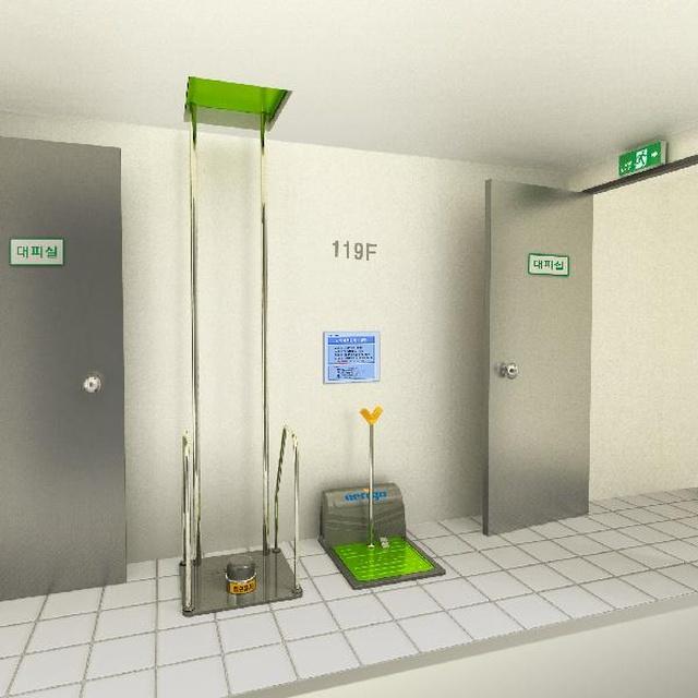 Необычная система для аварийной эвакуации из зданий
