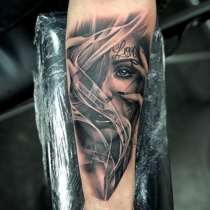 Невероятно реалистичные татуировки