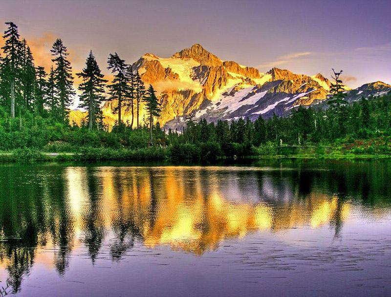 25 красивейших мест, где можно побыть наедине с природой