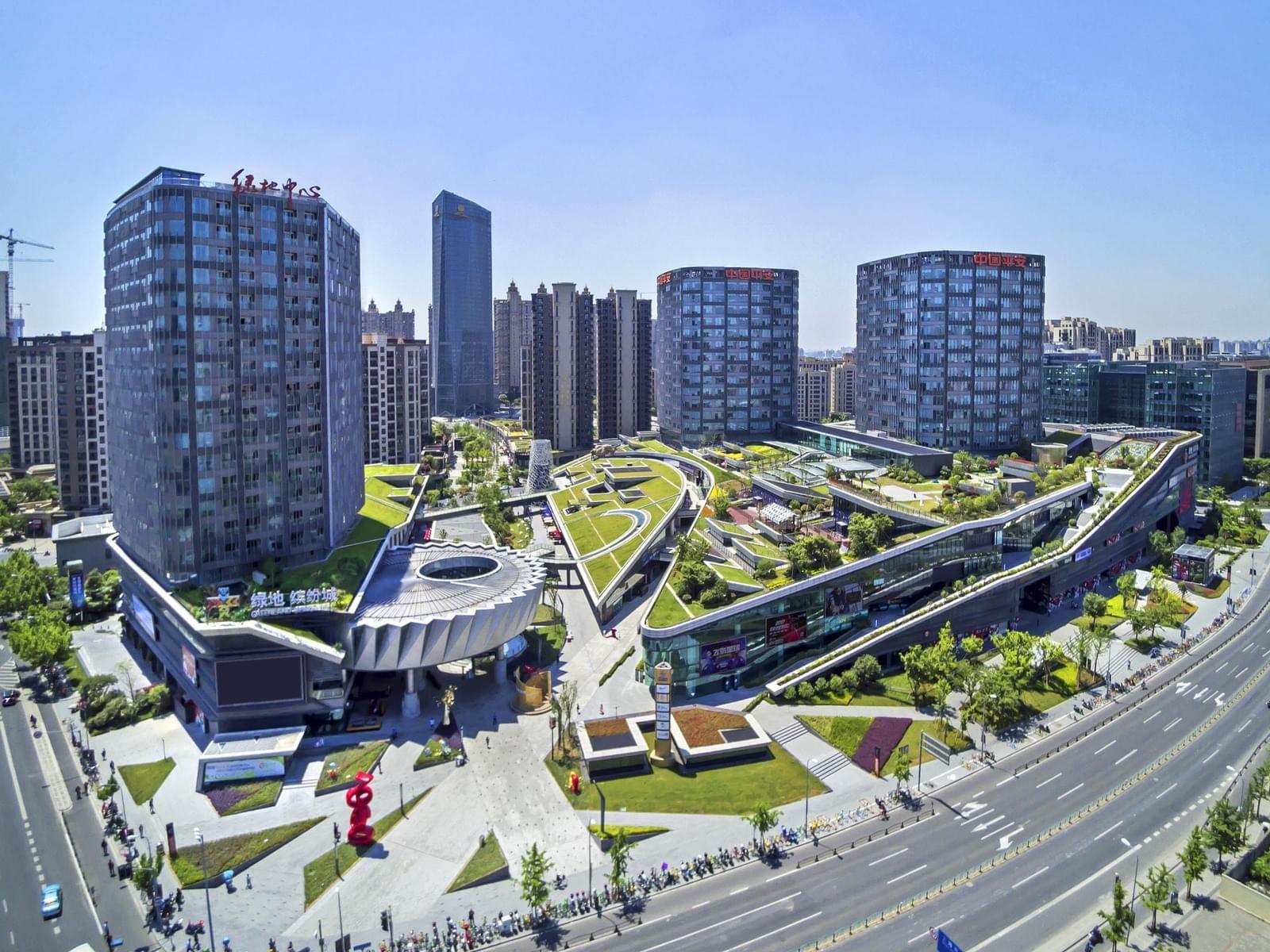 Городская ферма в центре Шанхая