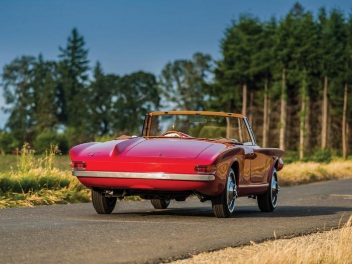Plymouth Asimmetrica Roadster 1961 – жуть с откидным верхом