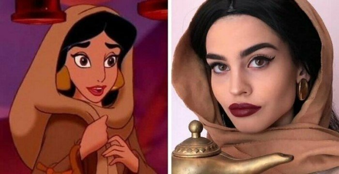 Девушка из Греции обожает перевоплощаться в различных персонажей