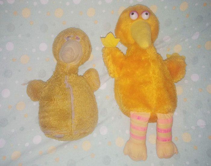 Плюшевые игрушки с разницей в возрасте