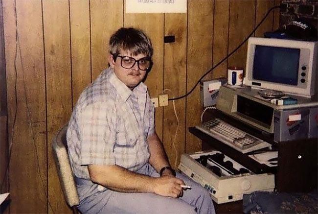Колоритные снимки гиков из 80-х