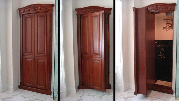 Потайные двери в тайные комнаты