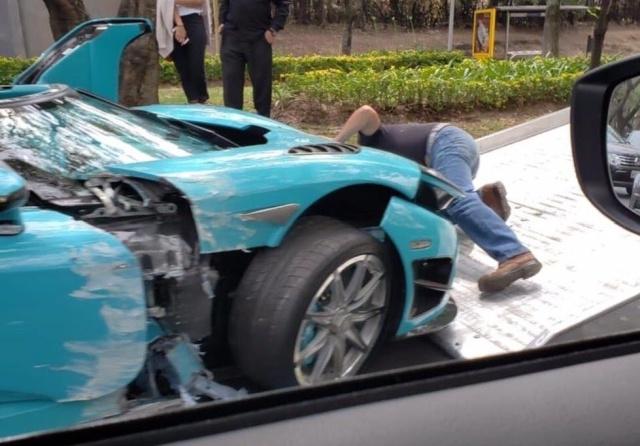 В Мексике разбили уникальный суперкар Koenigsegg CCXR