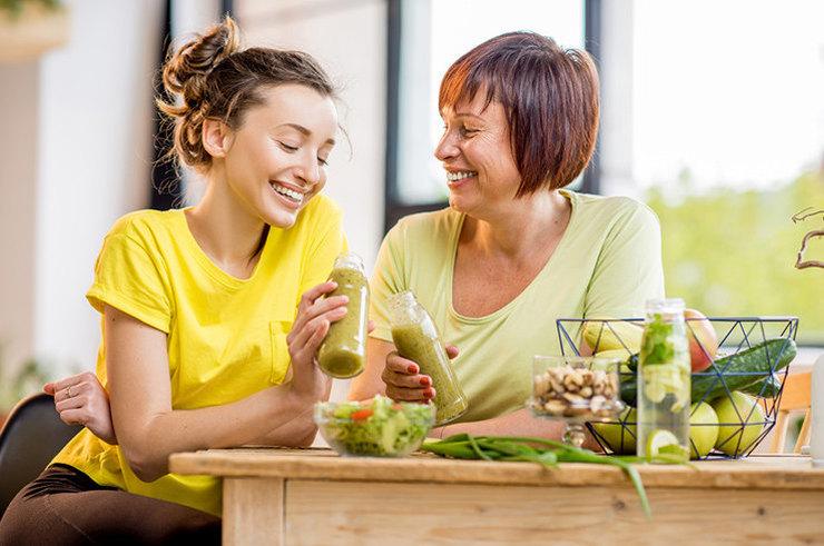Что необходимо менять в питании с возрастом?
