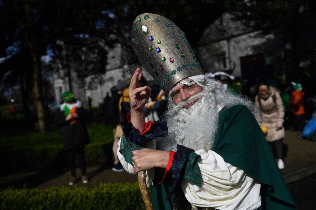 Как отпраздновали день святого Патрика в мире