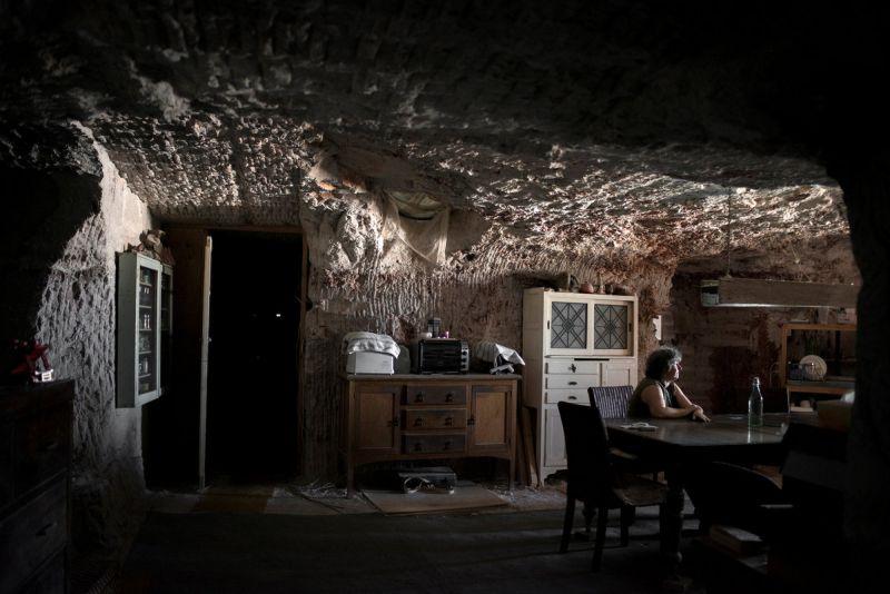 Подземный город добытчиков опалов Кубер-Педи