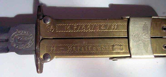Немецкий нож Pantographic необычной конструкции