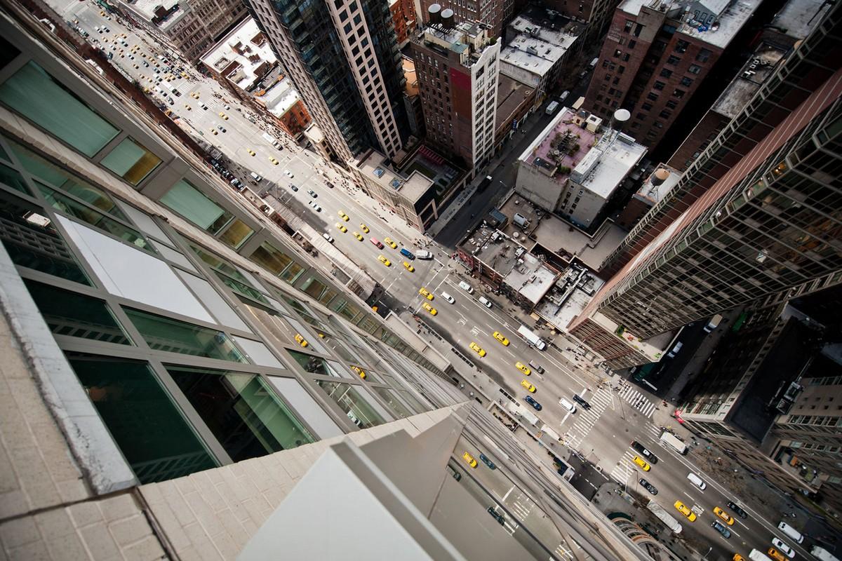 Нью-Йорк с высоты от Навида Барати