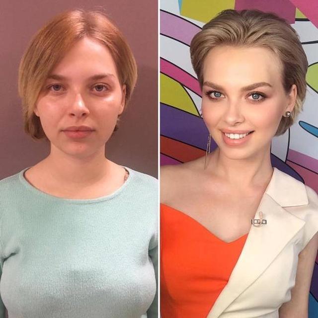 Сила макияжа творит чудеса: снимки до и после