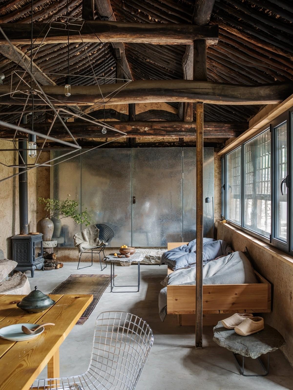 Новая жизнь старого сельского дома в Китае