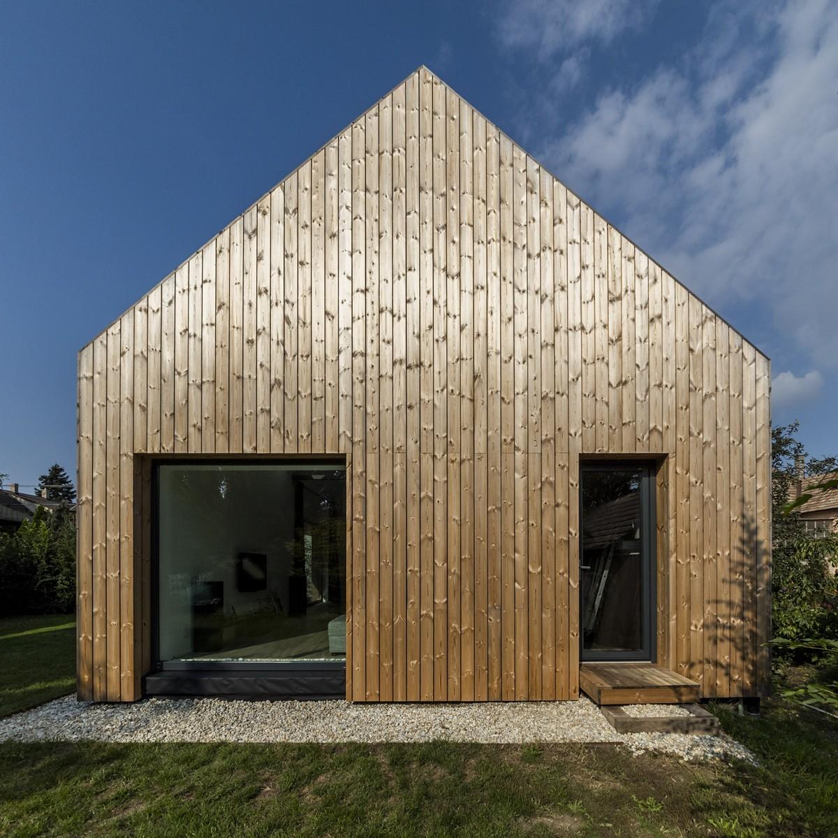 Реконструкция пригородного дома в Венгрии