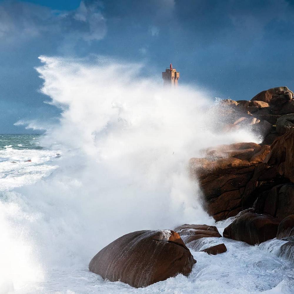 Штормовые бретонские пейзажи от Матье Риврина