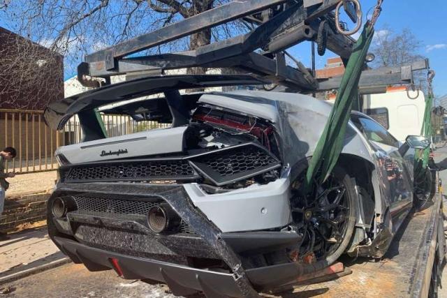 Владелец Lamborghini Performante хотел разогнаться в городе