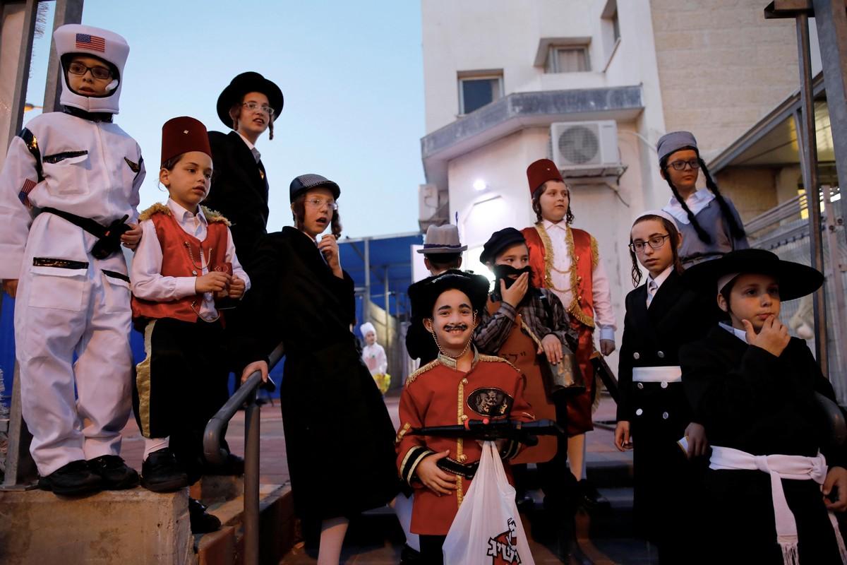 Яркий еврейский праздник Пурим
