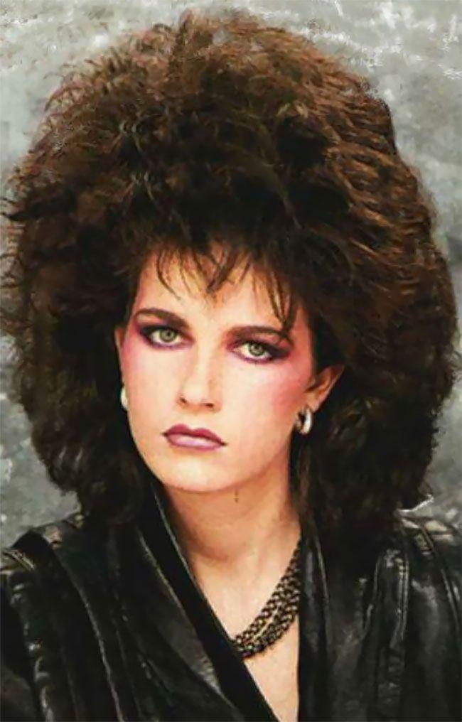 Безумные прически модниц из 80-х