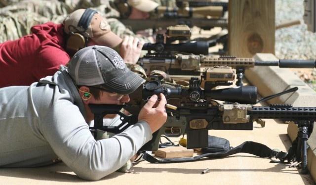 Винтовка победителя снайперского соревнования в США
