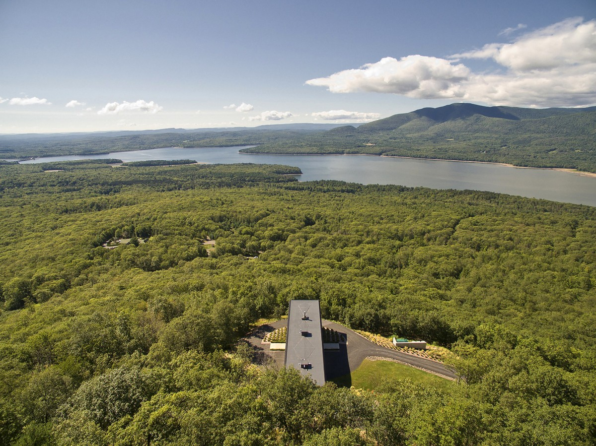 Резиденция среди дикой природы штата Нью-Йорк