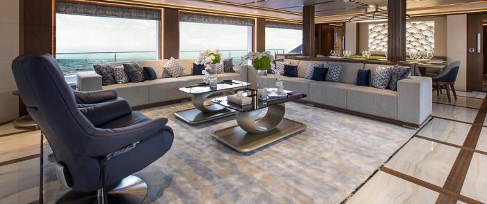 5 самых роскошных яхт, представленных на показе в Дубае