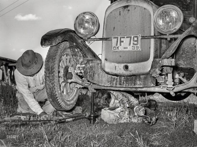 Архивные кадры из прошлого Америки