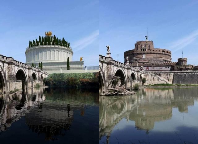 Как выглядели известные сооружения Рима 2 тысяч лет назад