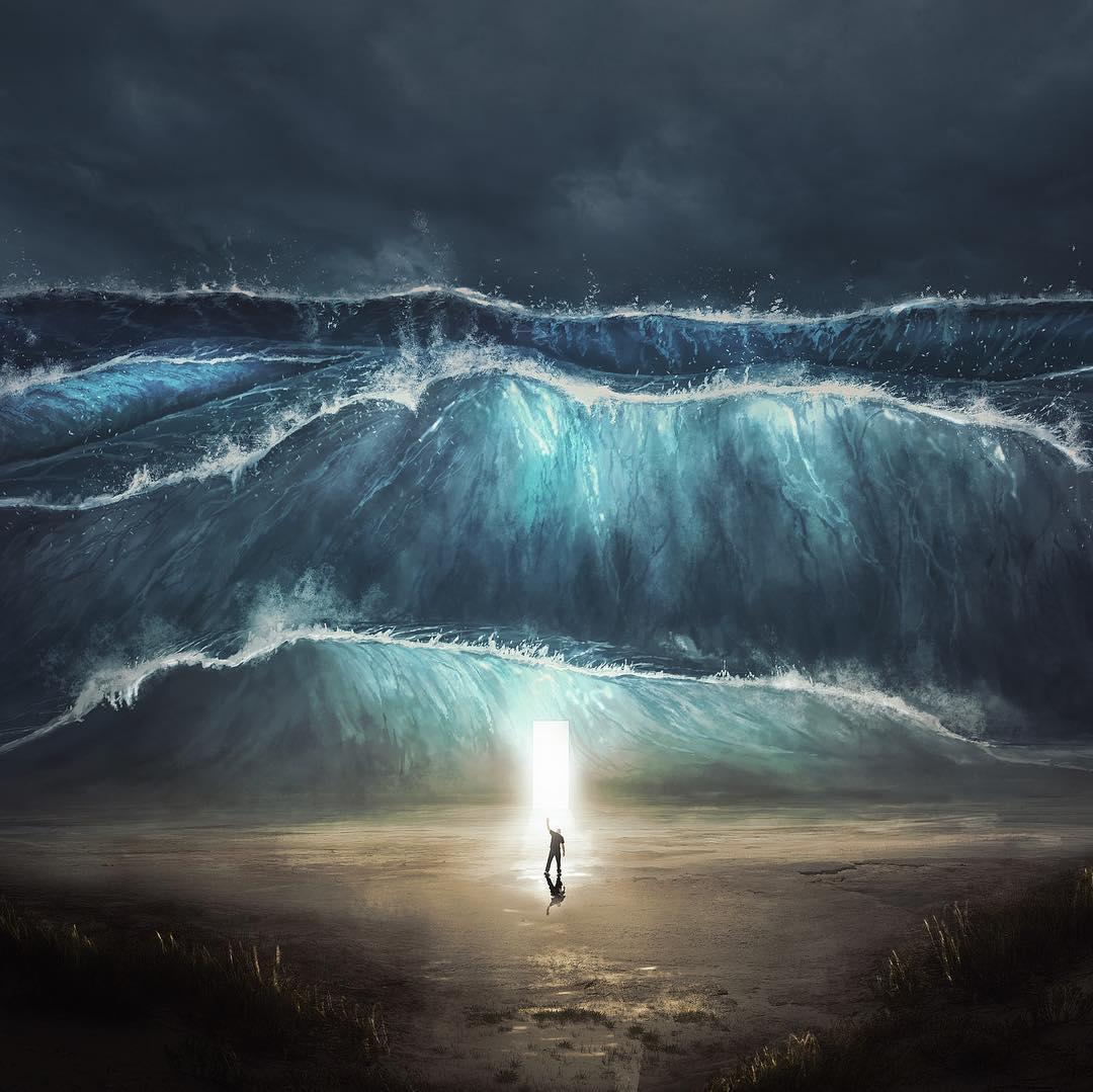 Сюрреалистические цифровые фотоманипуляции Кевина Кардена