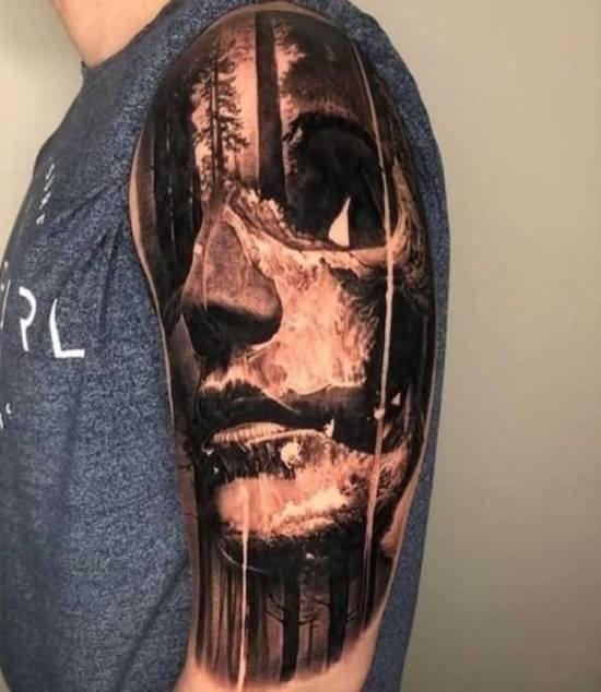Потрясающие татуировки от умелых мастеров