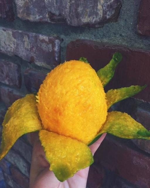 Разные плоды без кожуры приятно выглядят