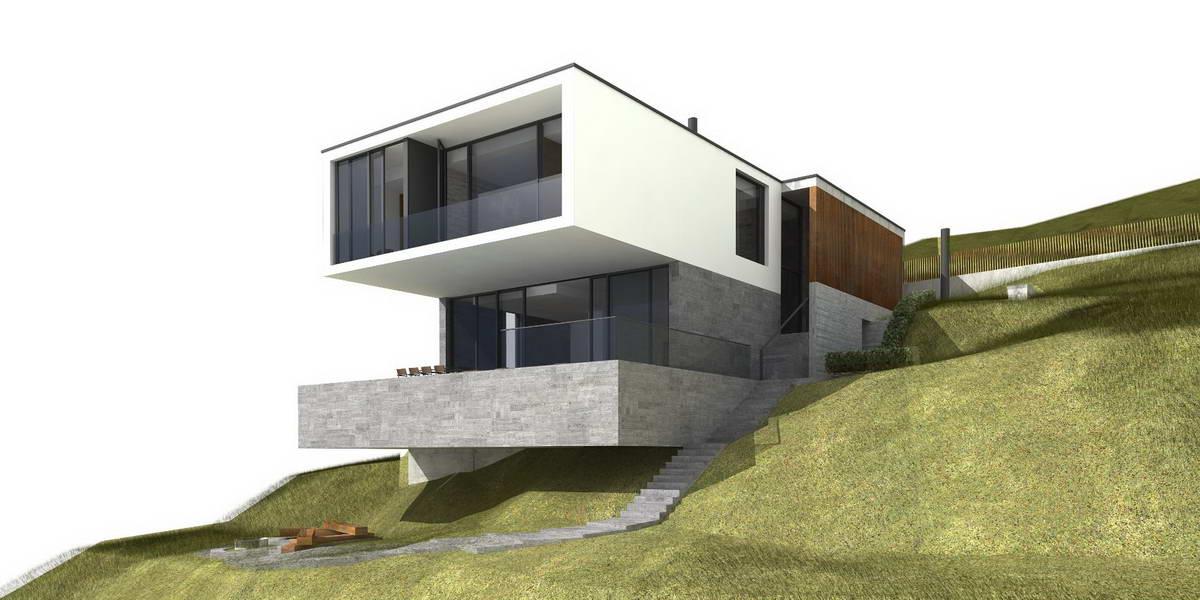 Модернистский дом в Сочи