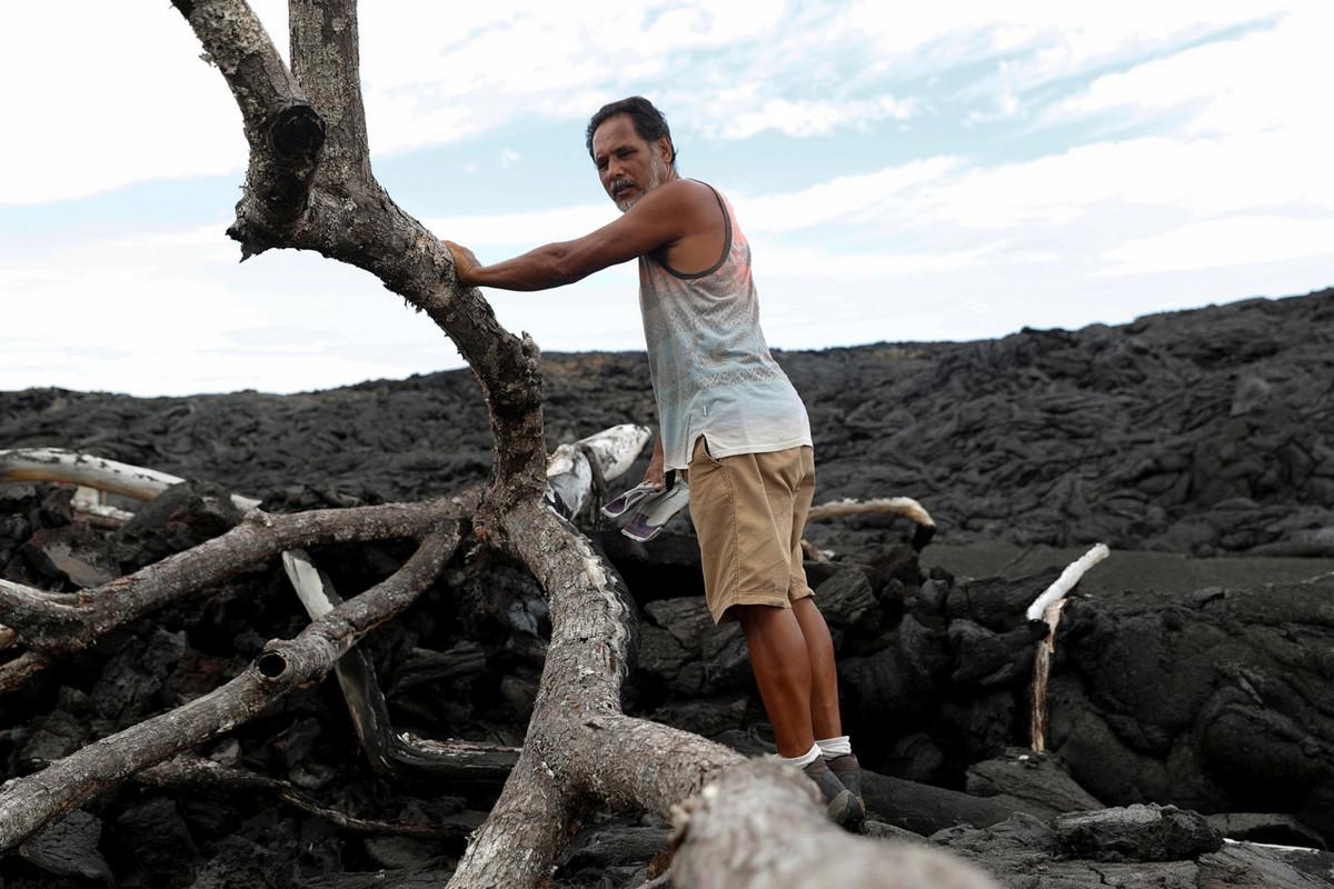Прошел год после извержения вулкана Килауэа на Гавайях