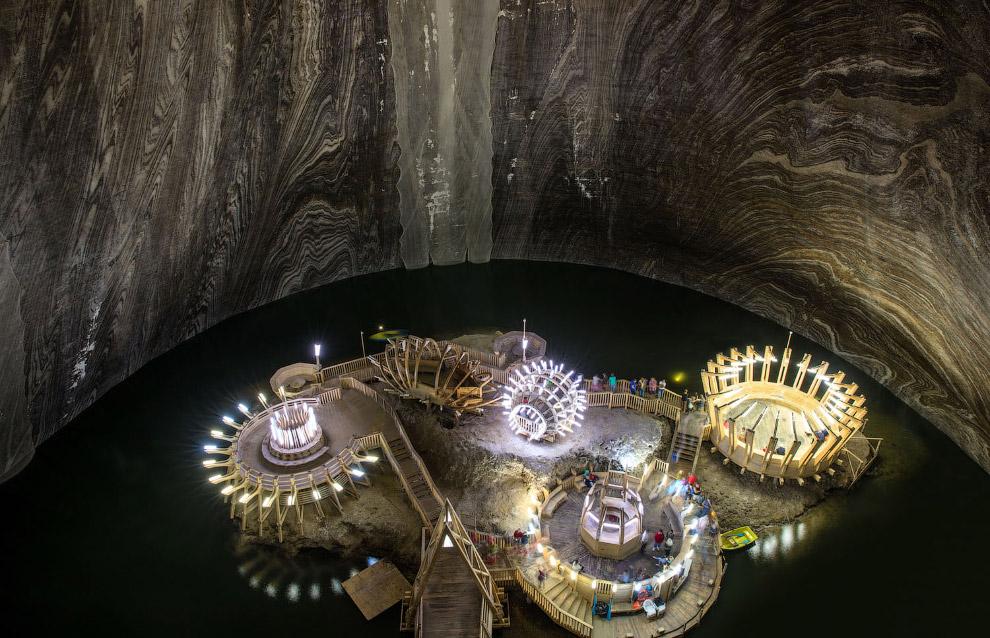 Странная красота соляных шахт со всего мира