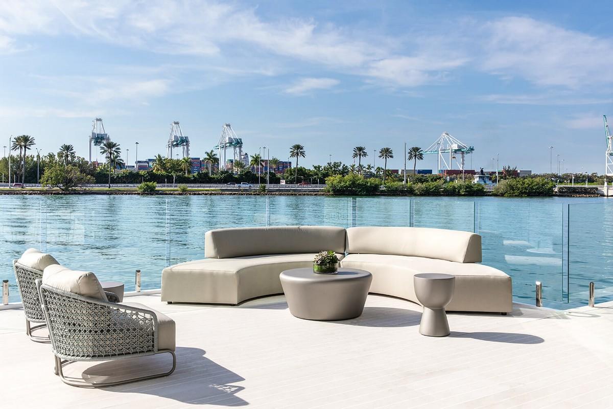 В Майами показали готовый прототип роскошного плавучего особняка