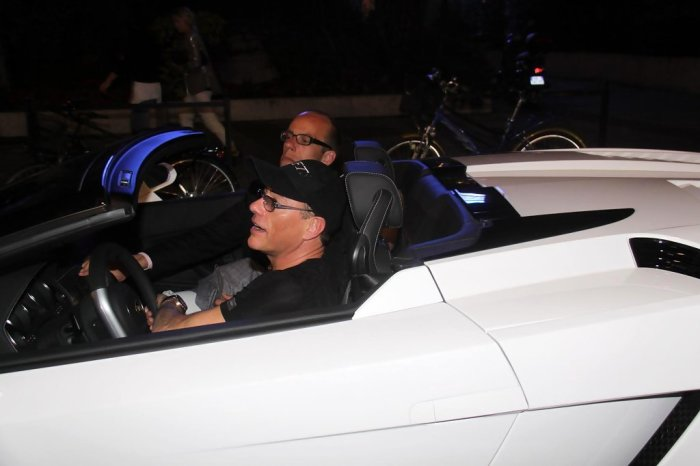 Автомобили, на которых ездит актер Жан-Клод Ван Дамм