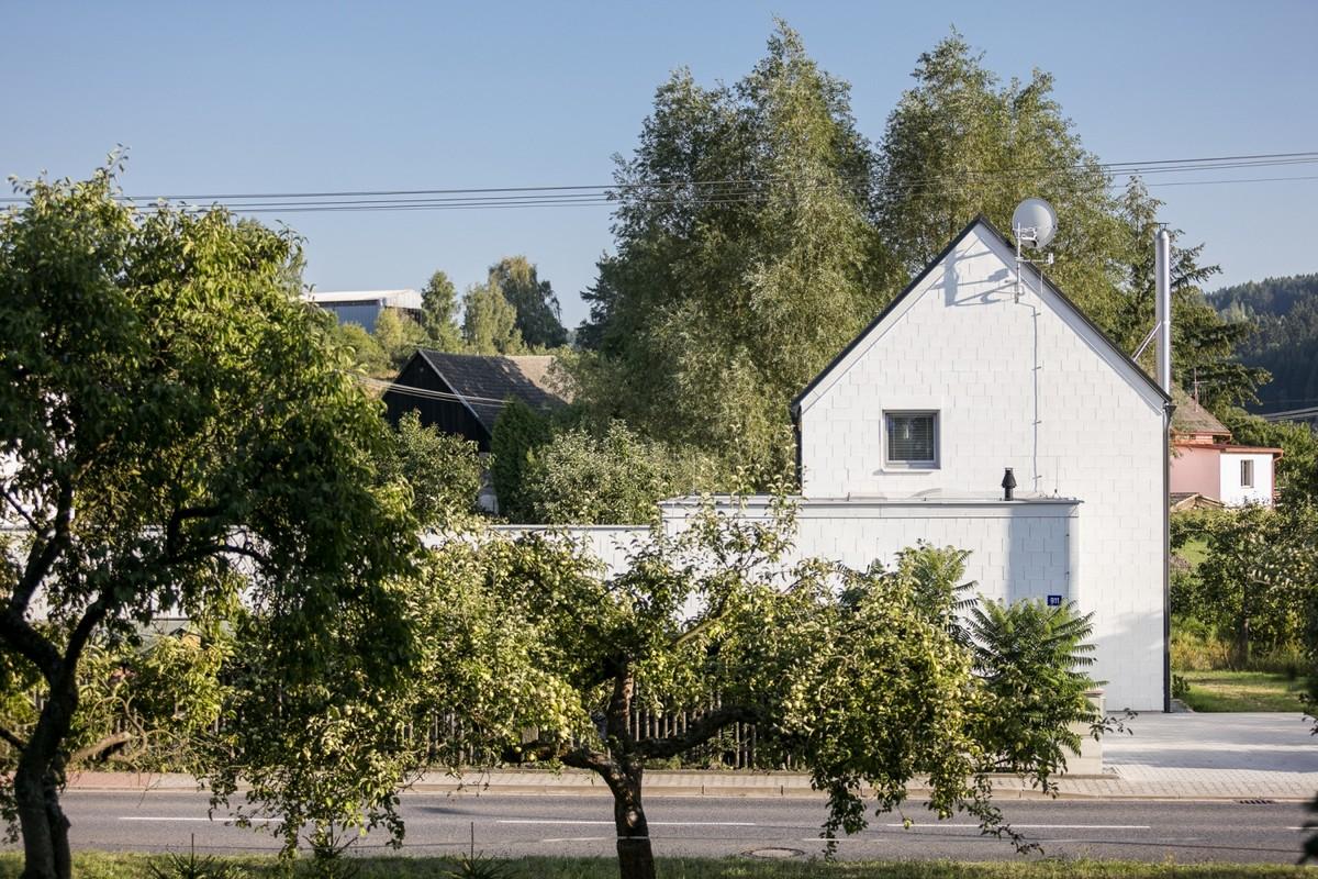 Два похожих дома для друзей в Чехии