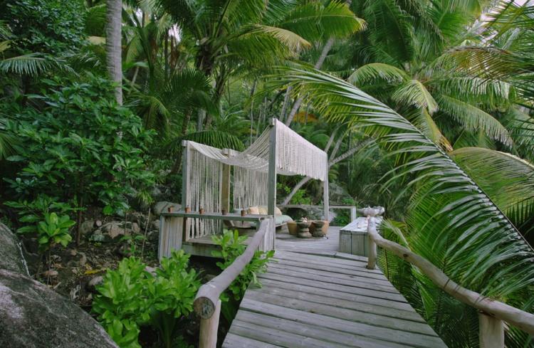 Прогулка по частному острову на Сейшелах