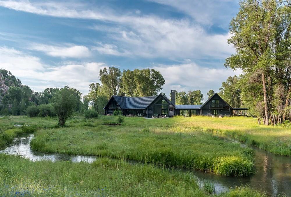 Дом для рыбака в США